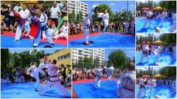 Pokazy taekwondo