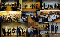 Ślubowanie klas I gimnazjum i liceum